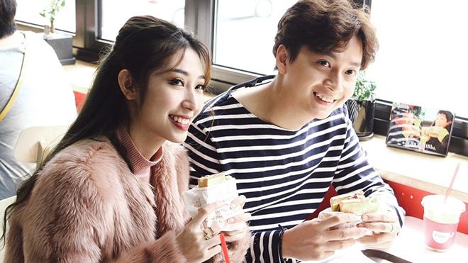 Bức ảnh khiến fan chờ đợi 1 đám cưới lung linh của Ngô Kiến Huy với Khổng Tú Quỳnh