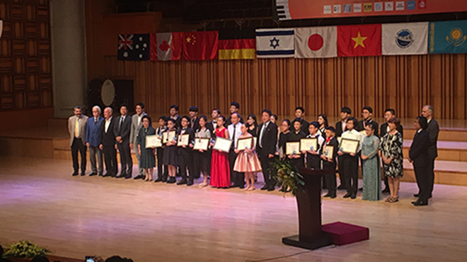 Ít thí sinh Việt giành giải tại cuộc thi piano quốc tế Hà Nội lần thứ 4