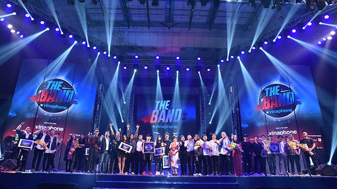 Chung kết toàn quốc The Band by Vinaphone đã tìm ra những gương mặt tiềm năng