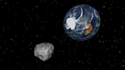 Tiểu hành tinh to bằng tòa nhà chọc trời đang tiến gần Trái Đất