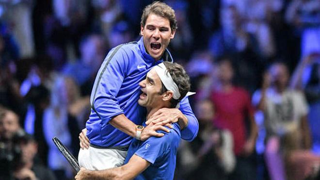 TENNIS 10/10: Nadal khiến Federer đầu hàng. Halep lên số 1 thế giới. Djokovic làm ông chủ