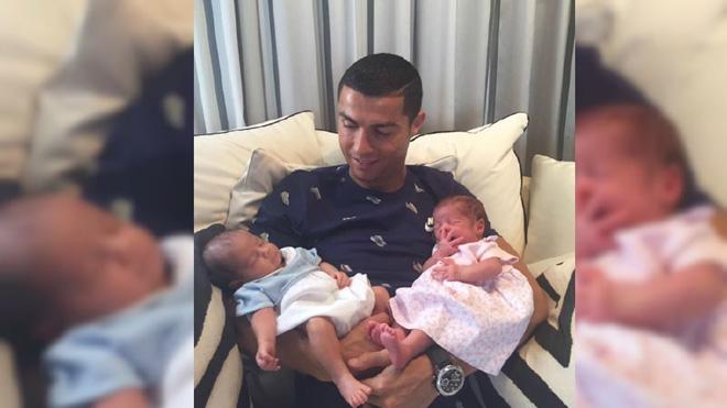 Ronaldo đã mất bao tiền để có cặp song sinh một trai, một gái? Người mẹ là ai?