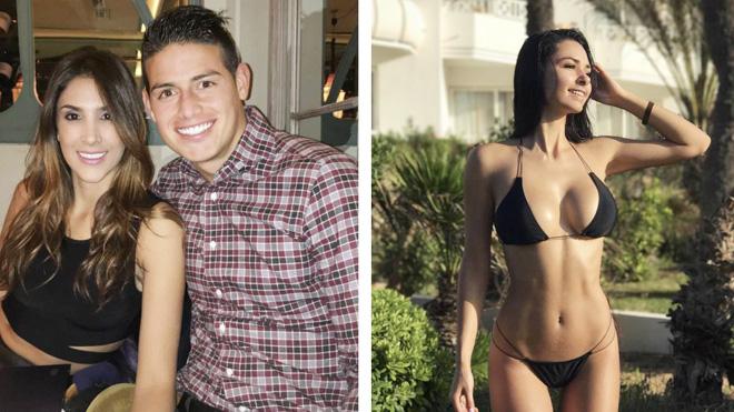 Lộ diện chân dung 'kẻ thứ 3' nóng bỏng khiến James Rodriguez ly dị vợ