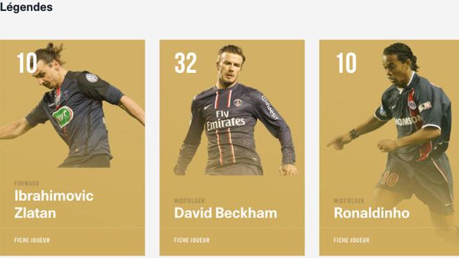 Đá 14 trận, được vinh danh thành huyền thoại PSG, Beckham bị gọi là 'kẻ cướp'