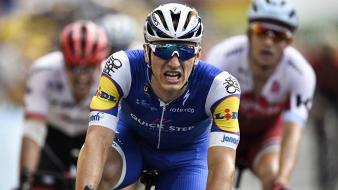 Tour de France: Kittel thắng chặng với khoảng cách... 6mm, phải nhờ camera quyết định