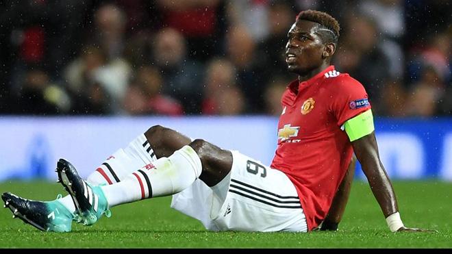 M.U trả giá cho chiến thắng: Pogba rời sân bằng nạng, nghỉ 2 tuần, vắng trận Everton