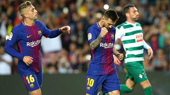 CẬP NHẬT sáng 20/9: Messi cùng Barca 'chơi tennis'. Leicester hạ Liverpool. Cavani lên tiếng vụ đánh Neymar