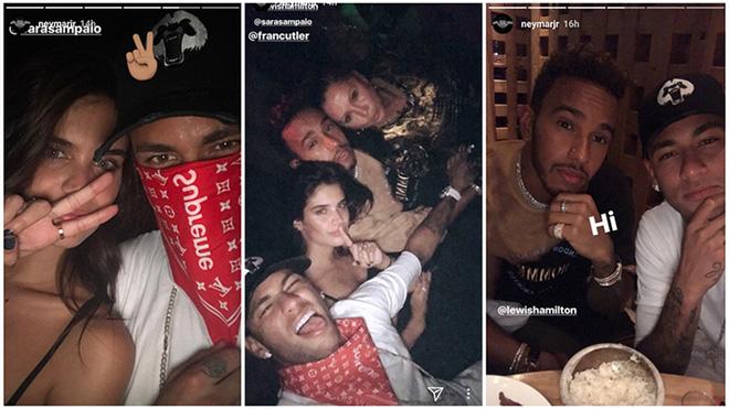 Buồn chán vụ Cavani, Neymar sang London 'bay đêm' cùng siêu mẫu Victoria's Secret