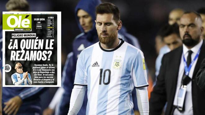 Messi bị truyền thông Argentina chỉ trích nặng nề, sắp từ giã ĐTQG thêm lần nữa