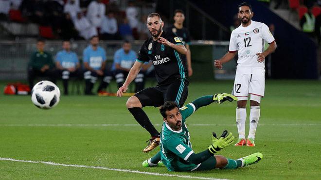 Khung thành Al Jazira như 'có ma', cầu thủ Real sút mãi không vào