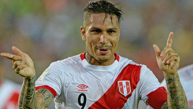 SỐC: Đội trưởng, chân sút số 1 của Peru bị cấm dự World Cup 2018