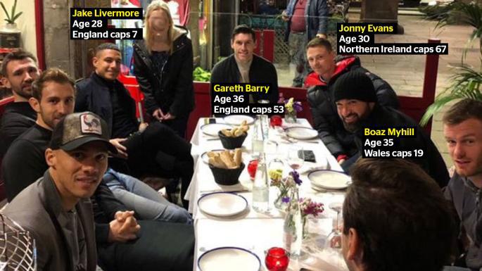 Bản án nào cho Jonny Evans và các ngôi sao West Brom vì tội trộm taxi ở Barcelona?