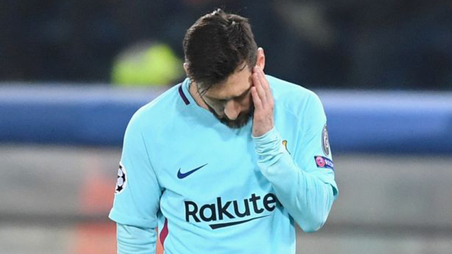 Messi, Suarez bị chấm điểm 4/10 trong thất bại của Barca