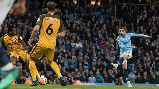Man City lập liền 3 kỷ lục sau trận thắng Brighton