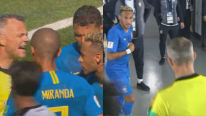 WORLD CUP 23/6: Lộ hình ảnh Neymar khiêu khích trọng tài. Nigeria nổi giận vì Croatia tính 'giúp' Argentina đi tiếp