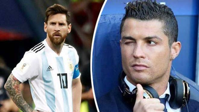 TIN HOT World Cup 29/6: Messi 'khổ sở' với ảnh Ronaldo. Phát sốt với màn úy lạo của Lukaku
