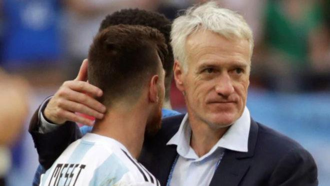 Deschamps hé lộ cách Pháp 'bắt chết' Messi