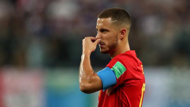 Bỉ bị loại, Hazard chỉ trích Pháp dùng lối chơi 'phản bóng đá'