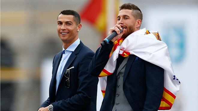 Ronaldo rời Real Madrid sang Juventus, Ramos và Bale nói gì?