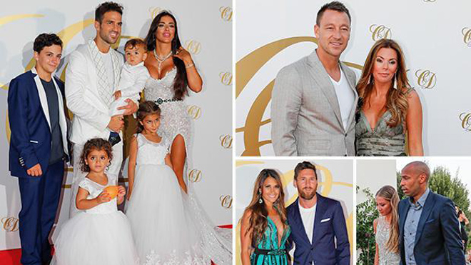 Messi, Henry, Terry & cả thế giới bóng đá dự 'đám cưới triệu đô' của Cesc Fabregas
