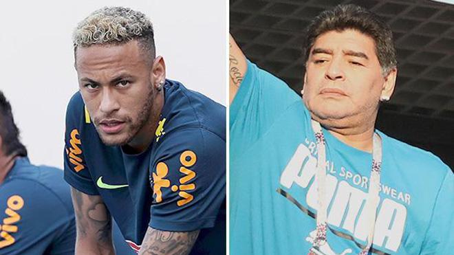 TIN HOT World Cup 3/7: Maradona khuyên Neymar. Bạn gái hoa hậu sang Nga cổ vũ Mbappe