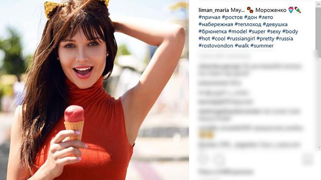 Lộ diện nữ CĐV mới xinh đẹp nhất nước Nga