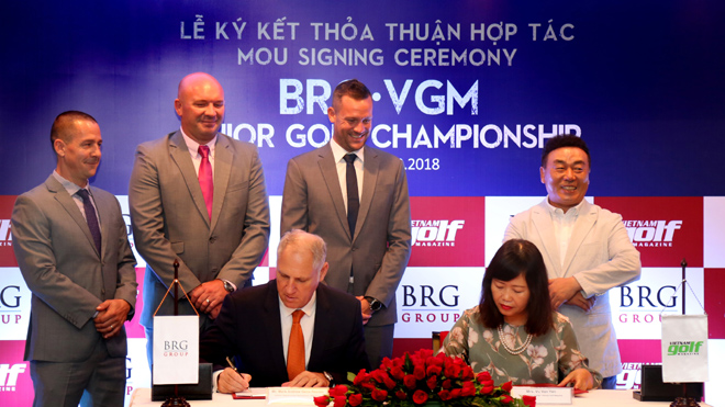 BRG đồng hành cùng gôn trẻ Việt Nam