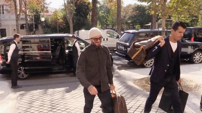 Beckham sang Paris sau vụ lách luật trốn án lái xe quá tốc độ