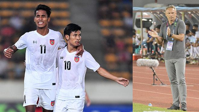 HLV Myanmar bị chê cười vì phát biểu 'tiền hậu bất nhất' ở trận thua Malaysia
