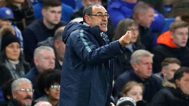 Chelsea: Vô địch không phải nhiệm vụ chính của Sarri