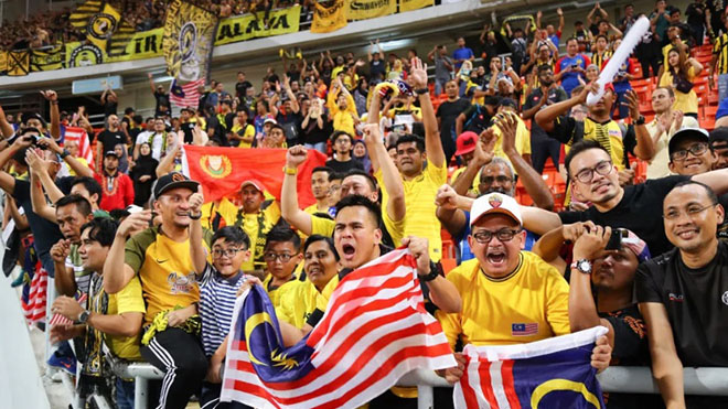 Người Malaysia cũng bức xúc vì vé online trận chung kết với Việt Nam