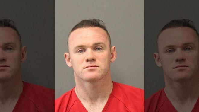 NÓNG: Wayne Rooney bị bắt giam trên đất Mỹ