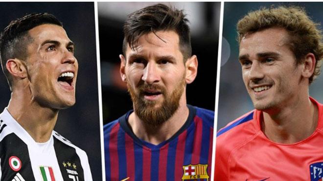 Messi nhận lương cao nhất thế giới, cao gấp đôi Ronaldo