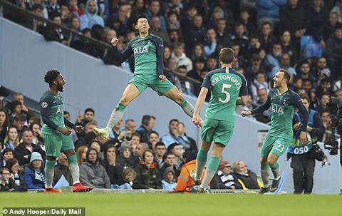 Man City vs Tottenham, Porto vs Liverpool, Man City, Liverpool, Tottenham, Champions League, bán kết Cúp C1, tứ kết cúp C1, Son Heung-min, De Ligt, Barca, Barcelona, MU