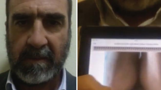 Eric Cantona bị chỉ trích dữ dội vì đăng video nhạy cảm trên trang cá nhân