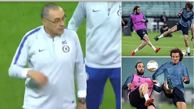 CẬP NHẬT sáng 29/5: Luiz và Higuain cãi nhau to trước CK Europa League. Barca ra phán quyết về Valverde