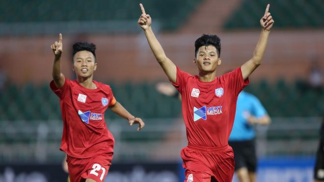 Giải bóng đá vô địch U15 Quốc gia – Next Media 2019: SLNA đối đầu SHB Đà Nẵng ở bán kết
