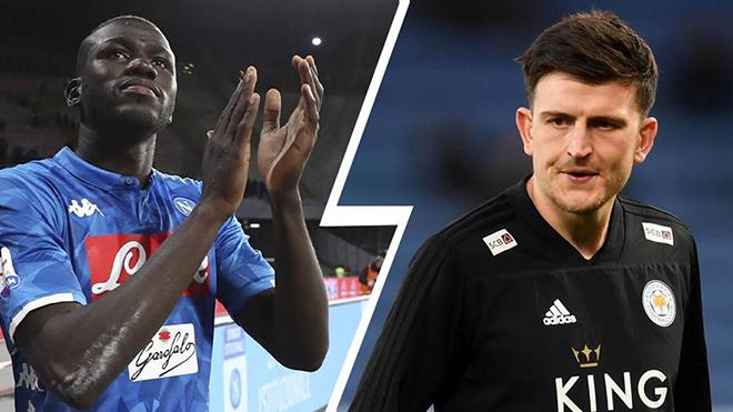 MU: Maguire hay Koulibaly phù hợp hơn với lối chơi của ''Quỷ đỏ''?