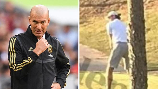 Real Madrid: Zidane nói bị ốm, Bale vẫn đánh golf như chưa có gì xảy ra