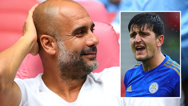 Pep Guardiola: 'Với Maguire, MU sẽ là ứng viên vô địch'