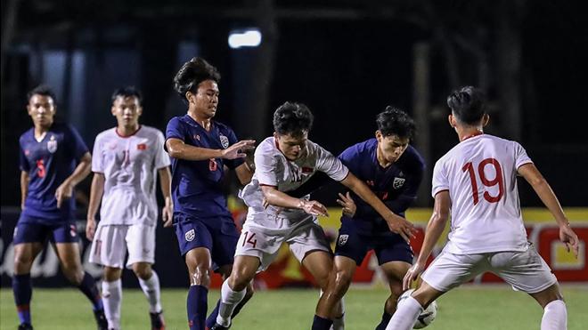 U19 Việt Nam hạ U19 Thái Lan ở phút bù giờ, hẹn U19 Hàn Quốc ở chung kết cúp Tứ hùng Bangkok