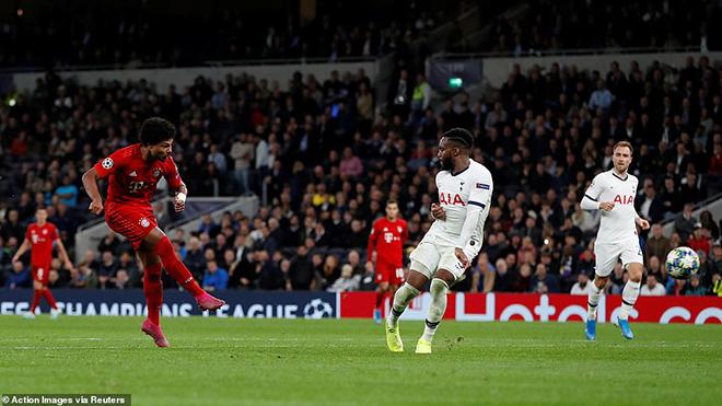Tottenham 2-7 Bayern: Wenger lại khiến Spurs ôm hận khi Gnabry ghi 4 bàn vào lưới Lloris