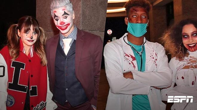Ronaldo, Lewandowski và Salah đã hóa trang kinh dị thế nào trong lễ hội Halloween?