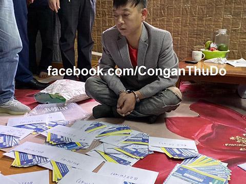 Công an Hà Nội bắt giữ 4 đối tượng, thu gần 1.000 vé giả trận Việt Nam vs Thái Lan