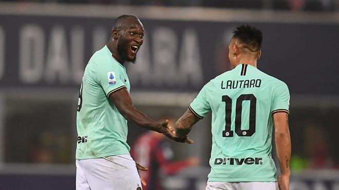 Bologna 1-2 Inter: Lập cú đúp, Lukaku cân bằng thành tích của huyền thoại Ronaldo 'béo'