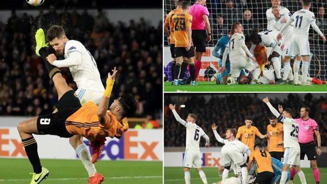 Sát thủ Ngoại hạng Anh ăn mừng bàn thắng bằng cách… xin lỗi sau khi khiến đối phương bất tỉnh