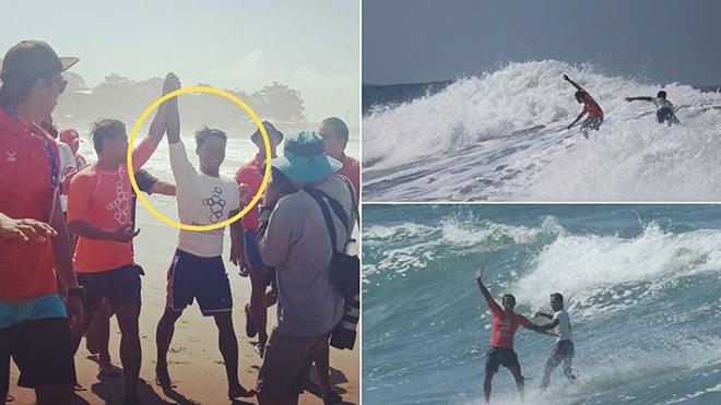 VĐV Philippines hi sinh huy chương vàng SEA Games để cứu đối thủ khỏi chết đuối