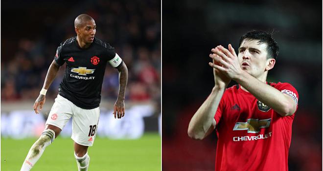 MU, chuyển nhượng MU, tin bóng đá MU, Ashley Young đến Inter Milan, Maguire là đội trưởng MU, Pogba ra đi, Bruno Fernandes, Cavani, lich thi dau bong da hom nay, bong da