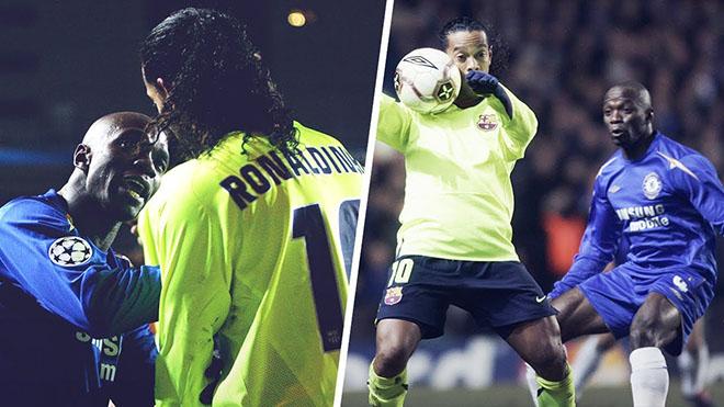 Chuyện Makelele dọa 'gửi Ronaldinho đến bệnh viện' đến giờ vẫn gây sốt