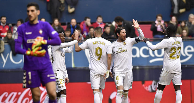 Osasuna vs Real Madrid Highlights, 09/02/2020